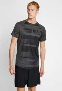 Under Armour - SUBLIMATED - T-shirt con stampa - jet gray/black - 0
