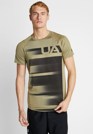 SUBLIMATED - T-shirt med print - outpost green/black