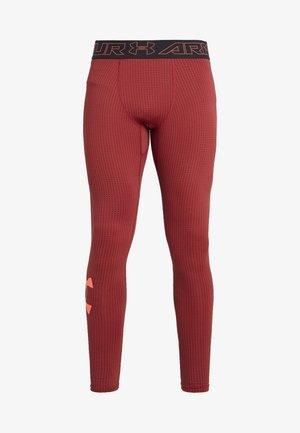 LEGGING NOVELTY - Tights - black/martian red/beta red