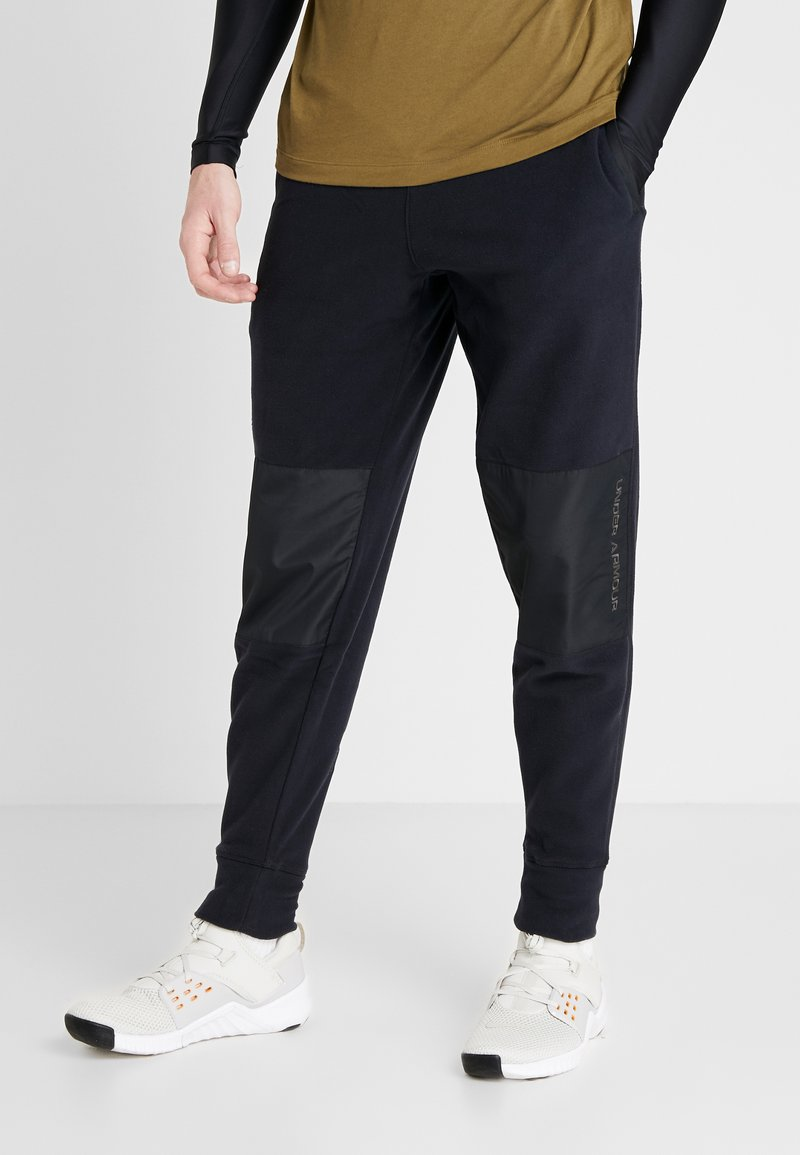 Under Armour - POLAR PANT - Teplákové kalhoty - black