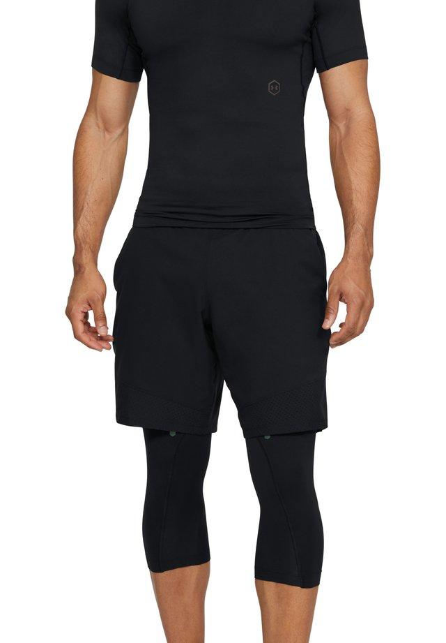 HG RUSH  - 3/4 sports trousers - black