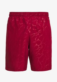 Under Armour - GRAPHIC EMBOSS SHORTS - Korte broeken - cordova/mod gray - 4