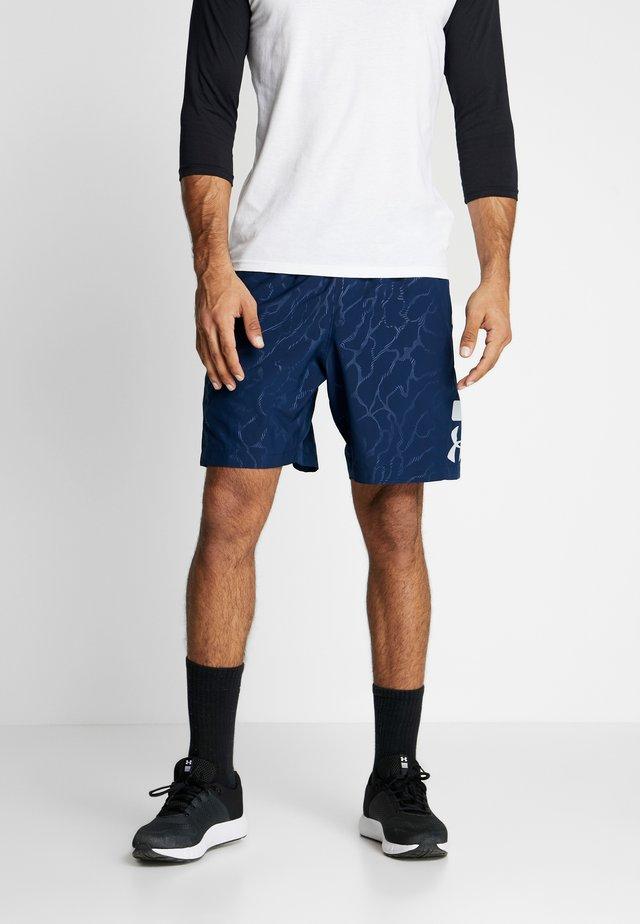 GRAPHIC EMBOSS SHORTS - Pantaloncini sportivi - academy/mod gray