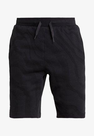 RIVAL SHORT PRINTED - Short de sport - black