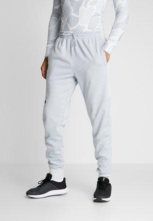 DOUBLE - Pantalones deportivos - halo gray/black