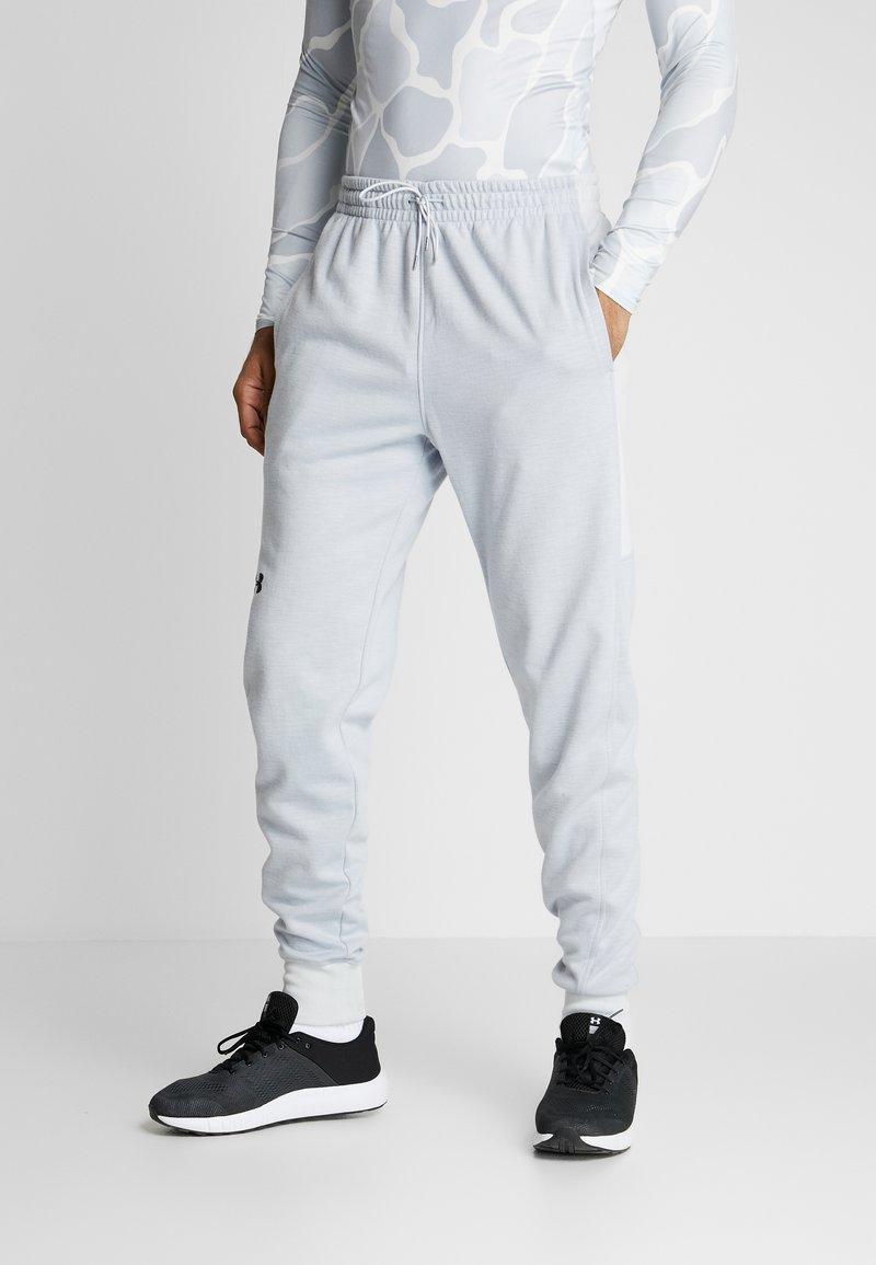 Under Armour - DOUBLE - Teplákové kalhoty - halo gray/black