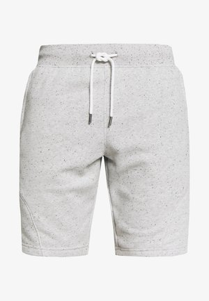 SPECKLED SHORT - Korte broeken - onyx white/black