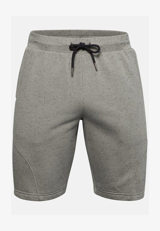 SPECKLED SHORT - Sports shorts - gravity green