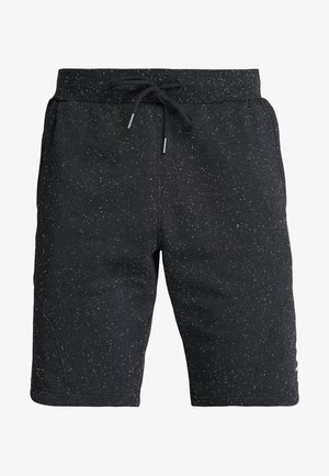 SPECKLED SHORT - Pantalón corto de deporte - black/onyx white