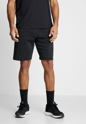 SPECKLED SHORT - Pantaloncini sportivi - black/onyx white
