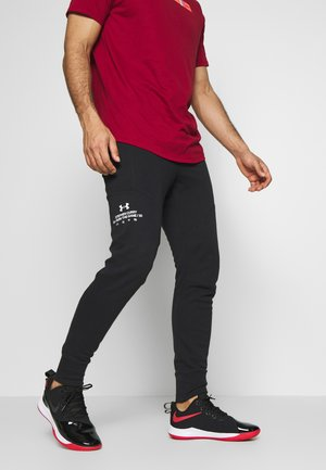 WARMUP PANT - Trainingsbroek - black/beta/white