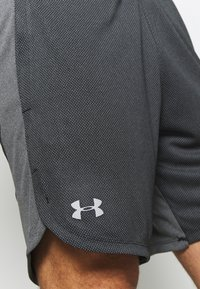 Under Armour - KNIT TRAINING SHORTS - Korte broeken - black/mod gray - 5