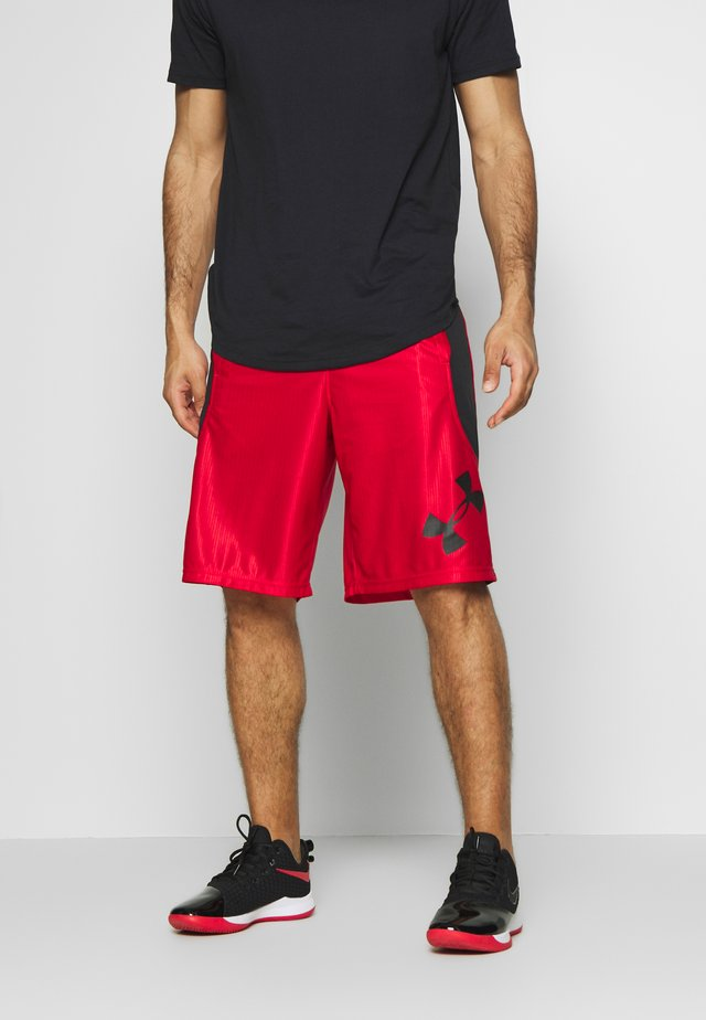 Short de sport - red/black