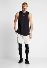 Under Armour - PROJECT ROCK - Leggings - black/pitch gray - 1