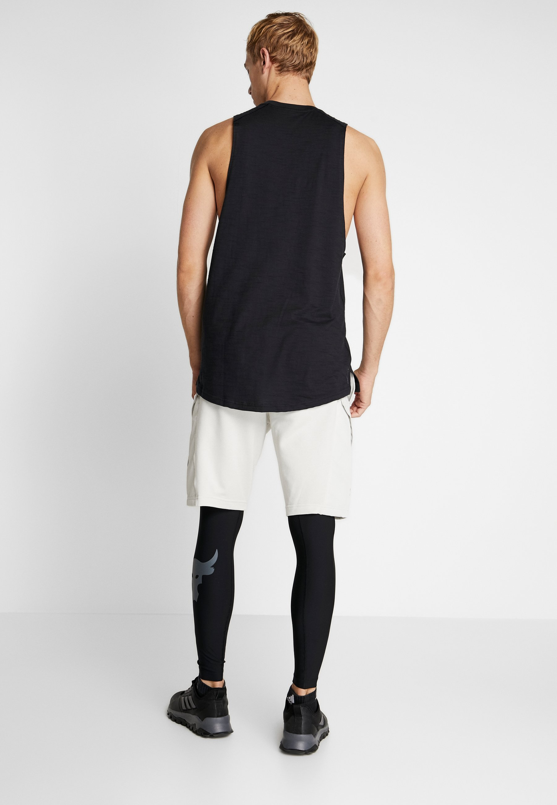 Under Armour PROJECT ROCK - Legginsy - black/pitch gray