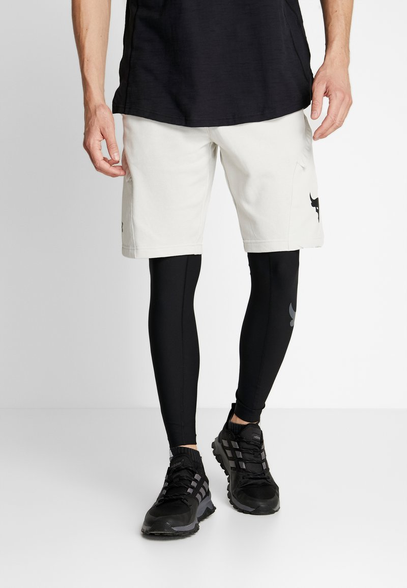 Under Armour - PROJECT ROCK - Leggings - black/pitch gray