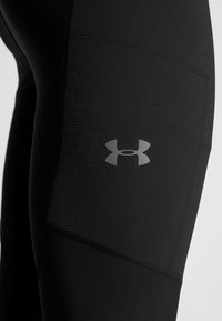 Under Armour - PROJECT ROCK - Leggings - black/pitch gray - 7