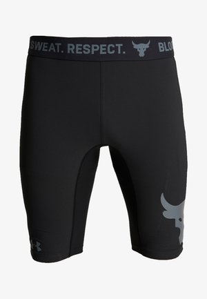PROJECT ROCK SHORTS - Legginsy - black/pitch gray