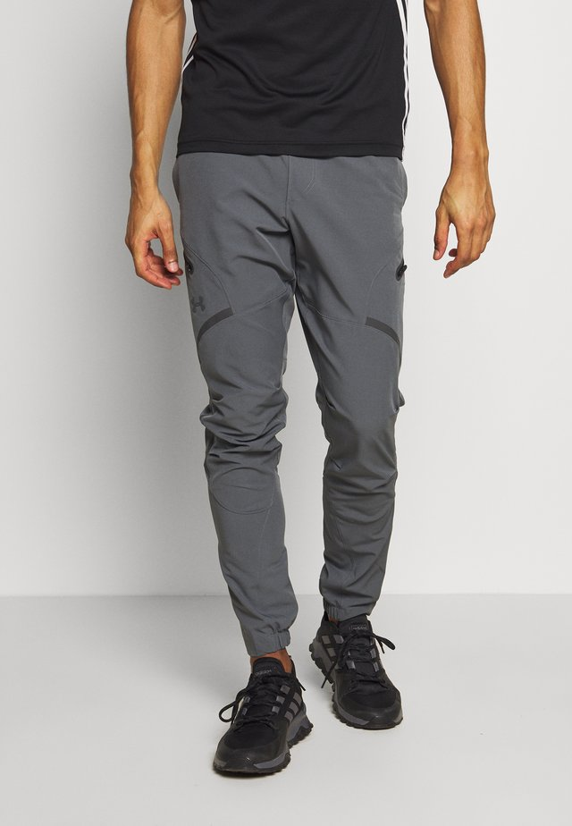PROJECT ROCK UTILITY PANT - Tracksuit bottoms - pitch gray