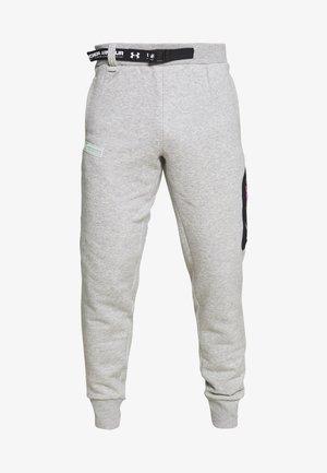 2.1 RIVAL - Teplákové kalhoty - halo gray/black/aqua foam