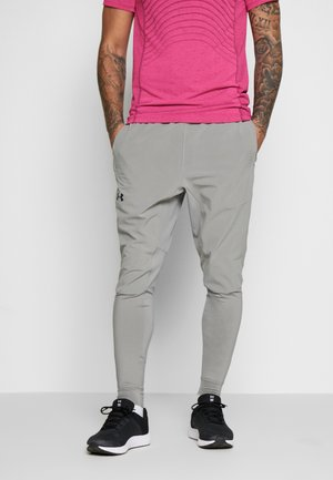 HYBRID PANT - Spodnie treningowe - gravity green/black