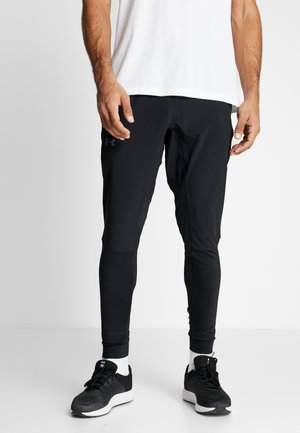 HYBRID PANT - Tracksuit bottoms - black/pitch gray