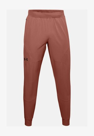 UA FLEX WOVEN JOGGERS - Trainingsbroek - cedar brown