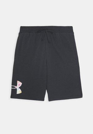 PRIDE RIVAL SHORT - Pantalón corto de deporte - black/black