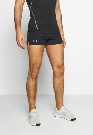 UA QUALIFIER SPEEDPOCKET SHORT - Sports shorts - black
