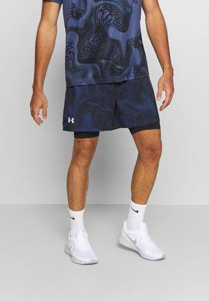 SPEEDPOCKET WEIGHTLESS SHORT - Korte sportsbukser - blue ink/black/reflective