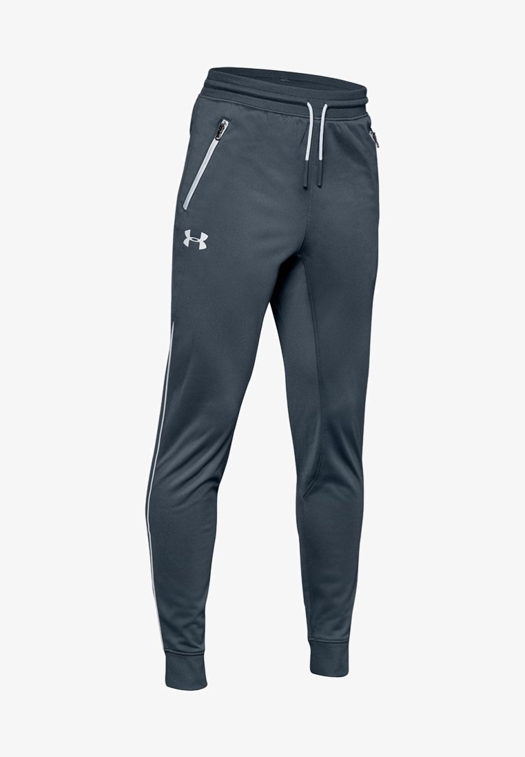 Under Armour - Tracksuit bottoms - dark gray