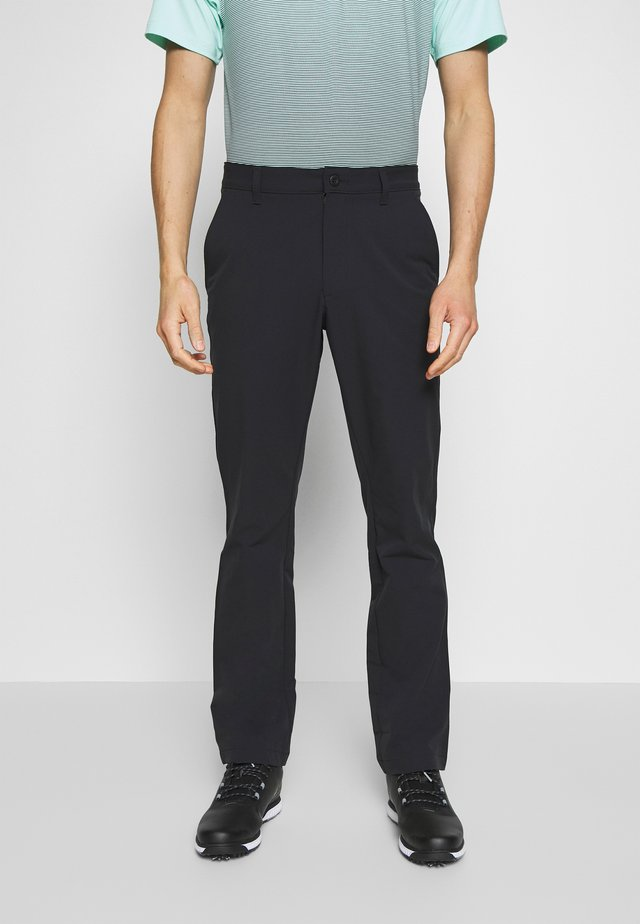 TECH PANT - Kangashousut - black