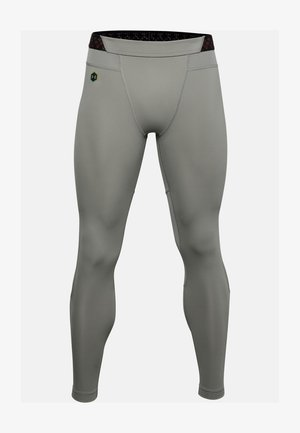 "UNDER ARMOUR HERREN LANGE FUNKTIONSUNTERHOSE ""UA CG RUSH LEGGING - Base layer - gravity green"