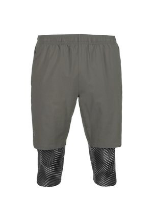 UA LAUNCH SW 2-IN-1 SHORT - Shorts - pitch gray