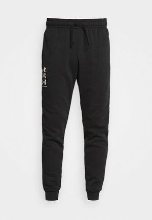 RIVAL MULTILOGO - Pantalones deportivos - black/onyx white