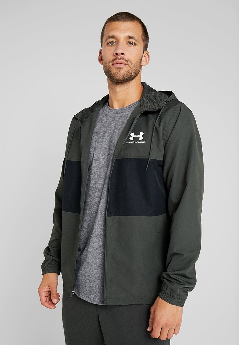 Under Armour - SPORTSTYLE WIND JACKET - Träningsjacka - baroque green
