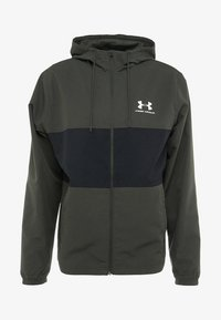 Under Armour - SPORTSTYLE WIND JACKET - Träningsjacka - baroque green - 4