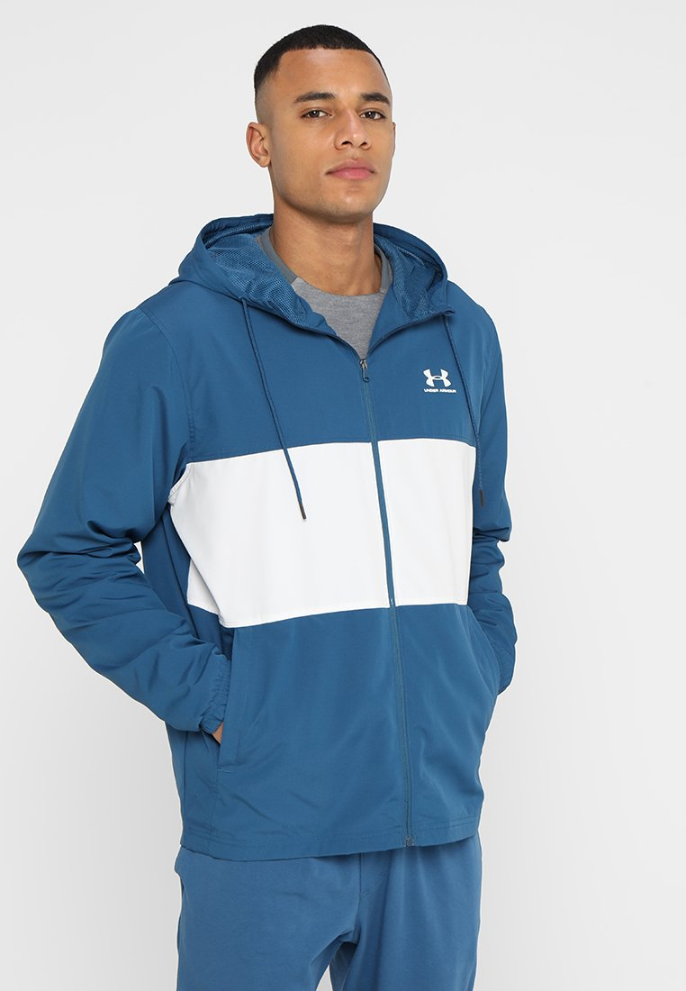 Under Armour - SPORTSTYLE WIND JACKET - Training jacket - petrol blue/onyx white