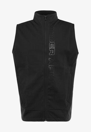 STORM VEST - Waistcoat - black/pitch gray
