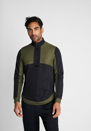 WARMUP - Collegepaita - guardian green/black