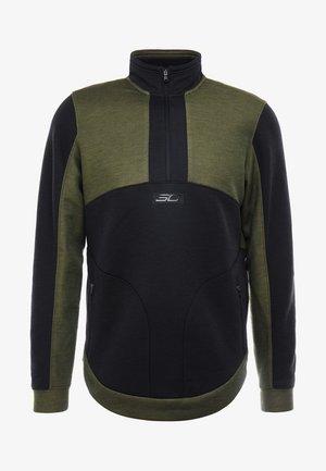 WARMUP - Sweatshirts - guardian green/black