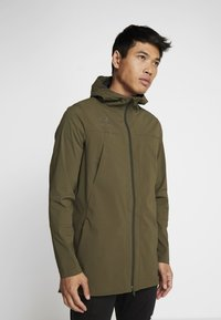 Under Armour - ACCELERATE TERRACE JACKET - Trainingsvest - guardian green/black - 0