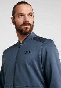 Under Armour - WARMUP BOMBER - Training jacket - wire/black - 3