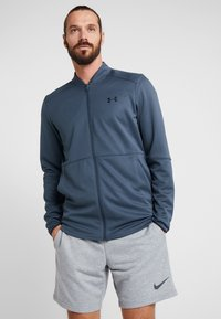 Under Armour - WARMUP BOMBER - Training jacket - wire/black - 0