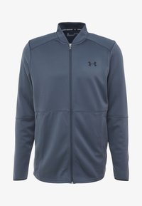 Under Armour - WARMUP BOMBER - Training jacket - wire/black - 4