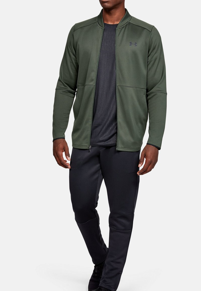 Under Armour - WARMUP BOMBER - Training jacket - baroque green