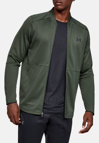 Under Armour - WARMUP BOMBER - Training jacket - baroque green - 1