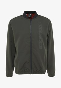 Under Armour - UNSTOPPABLE ESSENTIAL BOMBER - Giacca sportiva - baroque green/baroque green - 4