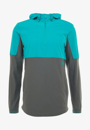 Sports jacket - teal rush/pitch gray/teal rush