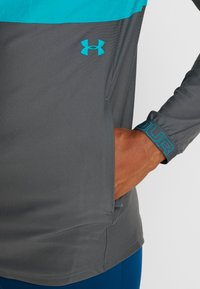 Under Armour - Chaqueta de deporte - teal rush/pitch gray/teal rush - 5